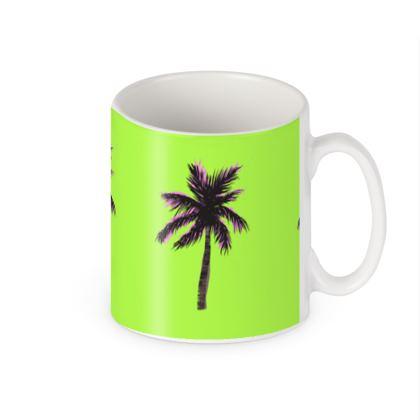 Mug in Green Palm