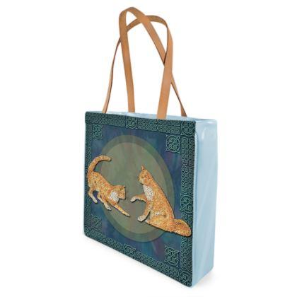 Celtic Cats Shopper Bag