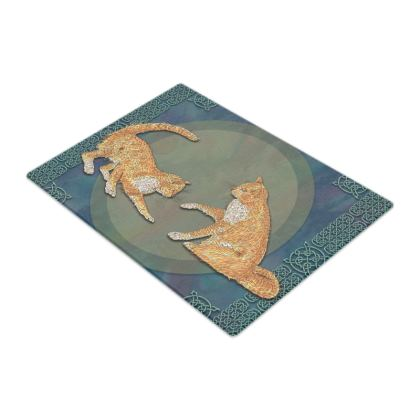 Celtic Cats Chopping Board