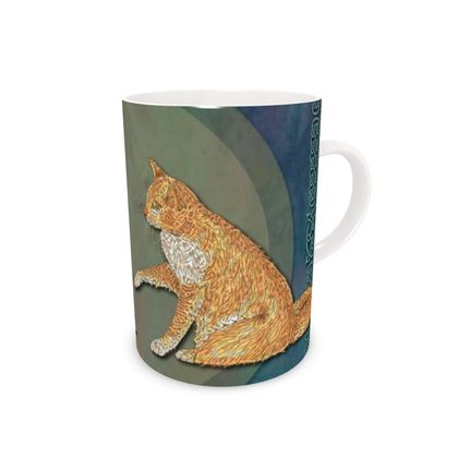 Celtic Cats China Mug