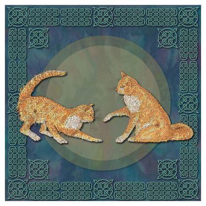 Celtic Cats Cushion
