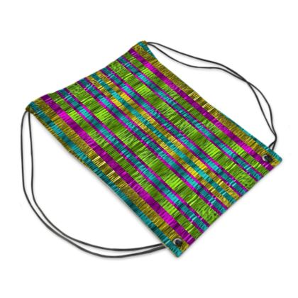 Rainbows is beautiful Drawstring PE Bag