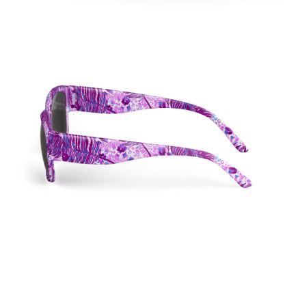 Purple Jungle Sunglasses