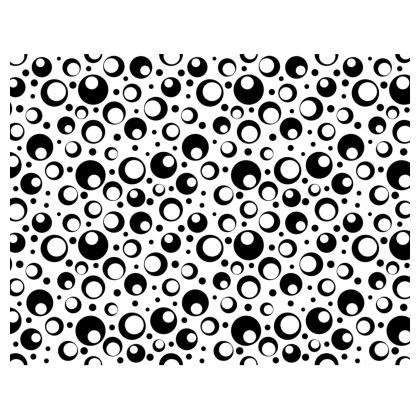 Black and White Funk Handbag