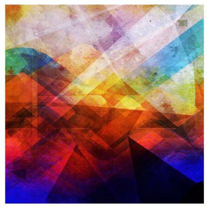 Digital Landscape Handbag