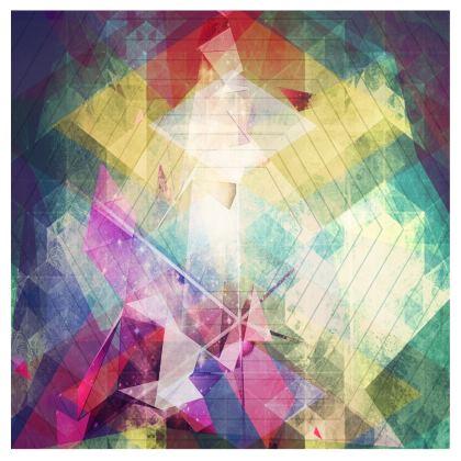 Abstract Geometry Handbag