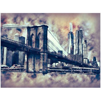 NY Cityscape Handbag