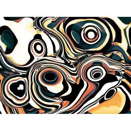 Abstract Elegance Handbag