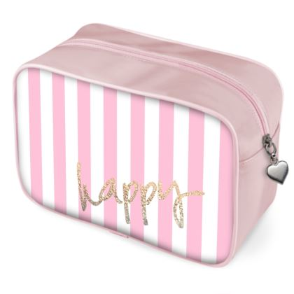 HAPPY PINK - Wash Bags