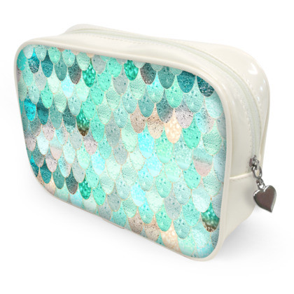 SUMMER MERMAID MINT - Make Up Bags