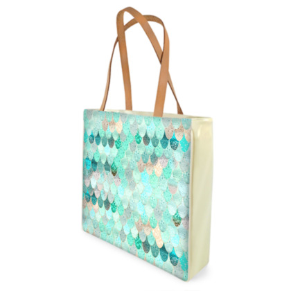 SUMMER MERMAID MINT - Beach Bag