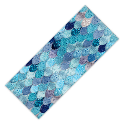 SUMMER MERMAID OCEAN BLUE - Towels