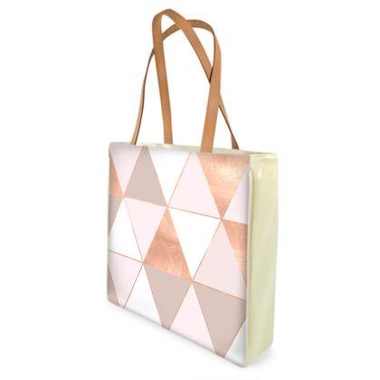 GEO TIKKI ROSEGOLD PASTEL - Shopper Bags