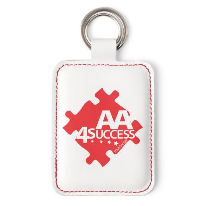 AA4Success Classic Leather Keyring