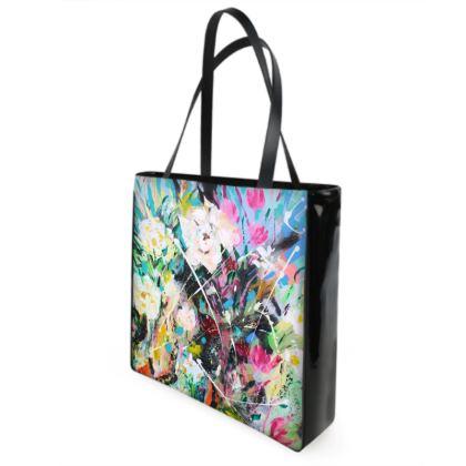 Spring Fever Shopper/Beach Bag by Alison Gargett