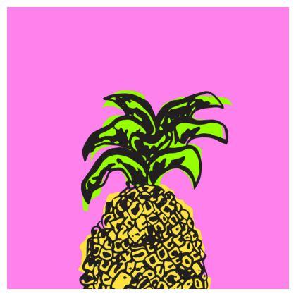 Pink Pineapple Coasters