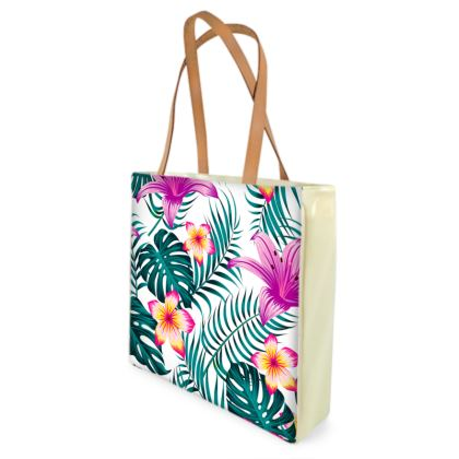 exotic shopper bag