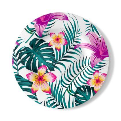 exotic Decorative Plate