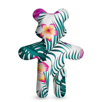 exotic flowers Teddy Bear