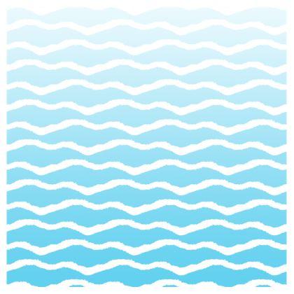 Sea Waves Swimming Shorts