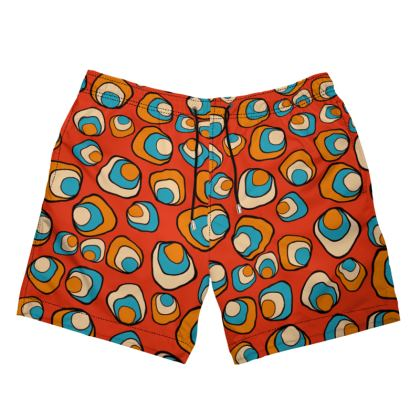 African Summer Funk Swimming Shorts