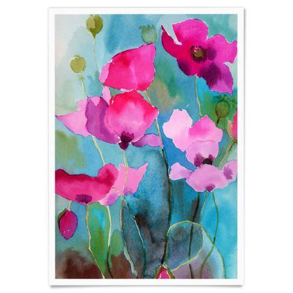 Poppy Poster