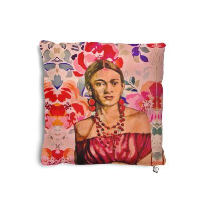 Designer Cushion Frida Kahlo
