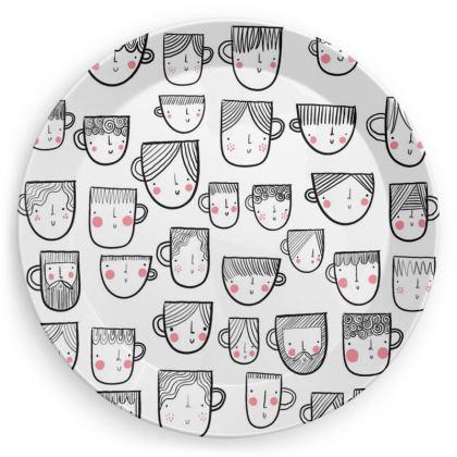 Mug face plate