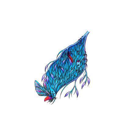 'Blue' Handbag