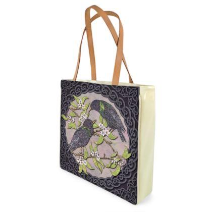 Celtic Starlings Shopper Bag
