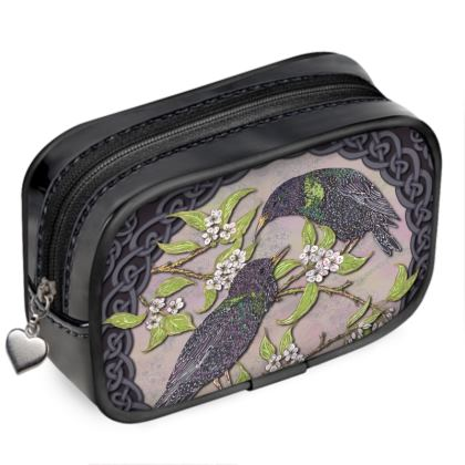 Celtic Starlings Pouch Purse