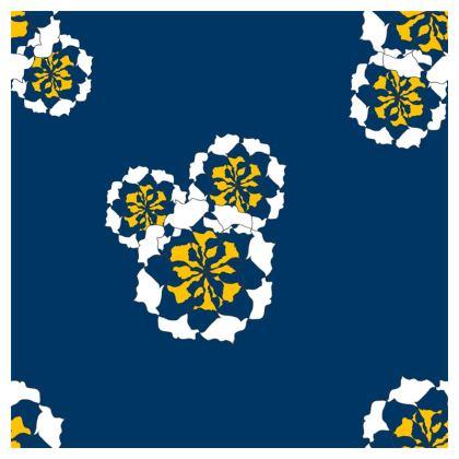 Geometric Floral print cushion