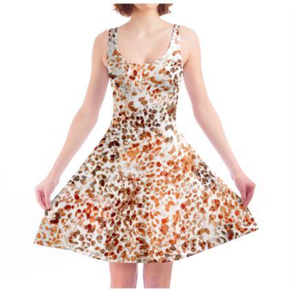 Felines Skater Dress