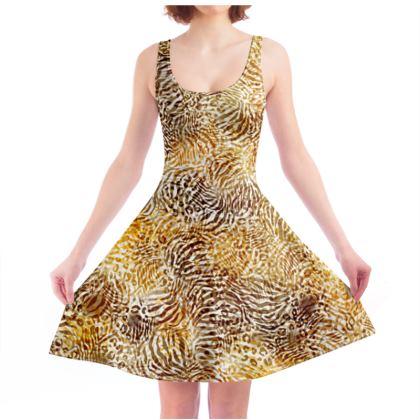 Big Cats Skater Dress