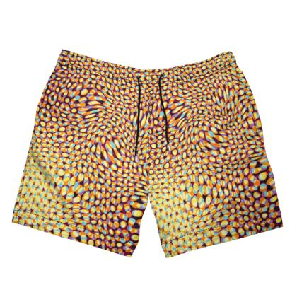 Psychedelia in the Sun Swim Shorts