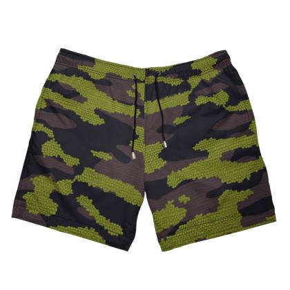 Camo Textures Swim Shorts