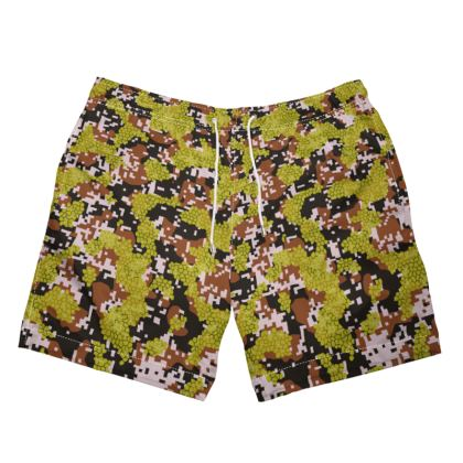 Pixel Camo V1 Swim Shorts