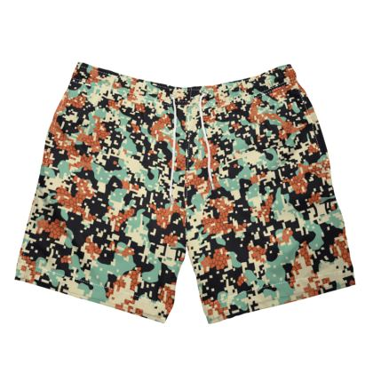 Pixel Camo V2 Swim Shorts