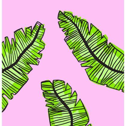 Plants on Pink Cushion