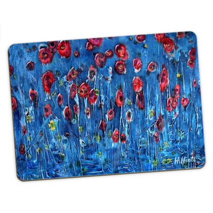 Large Placemats - Blooming Sea