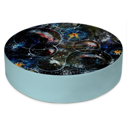 Round Floor Cushions - Bubbles