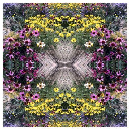 Flower garden cushion