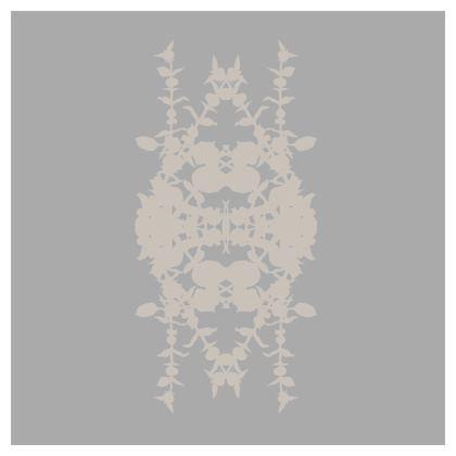 Geometric Greg & cream cushion