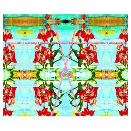 239,- Kimono-Morgenmantel im zauberhaften ninibing34 Design size 2 XL in plüschiger Kuschelqualität für's Home Office