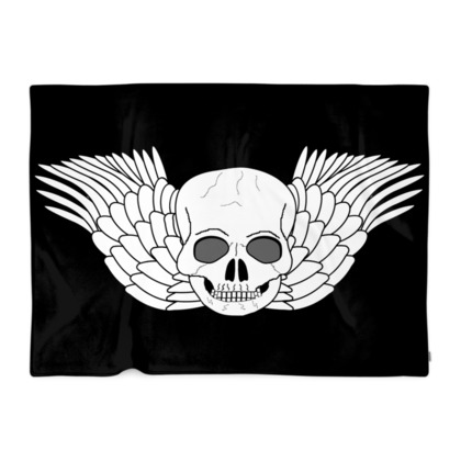 Fantasy Art Skull Design Blanket