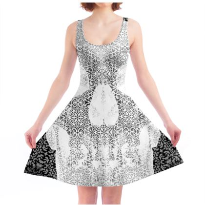 Cranial Oblivion I - Light - Skater Dress II