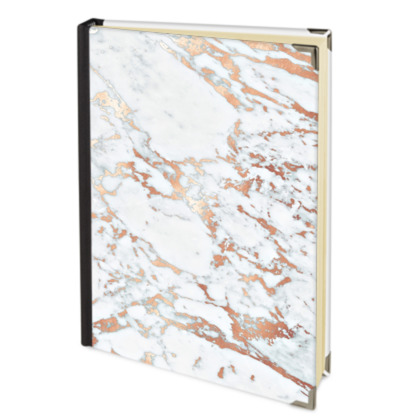 ROSEGOLD MARBLE - Address Book