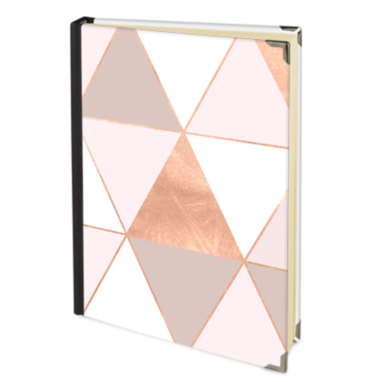 GEO TIKKI  ROSEGOLD PASTEL - Address Book