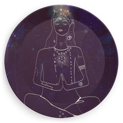 Peaceful plate
