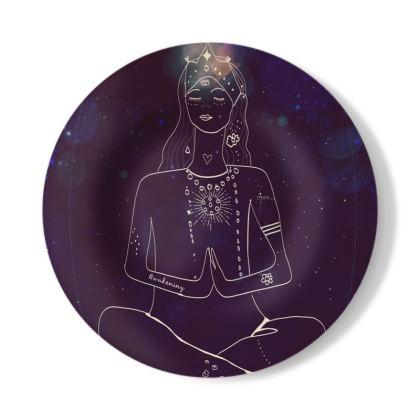 Peaceful Decorative Plate